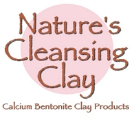 Nature's Cleansing Clay Calcium Bentonite Clay Products